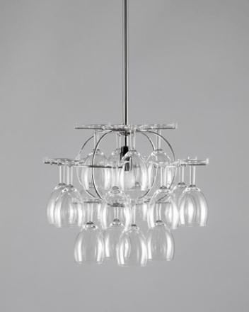 Cedervall shapes Lillklasen 16 glas - Förkromat stål