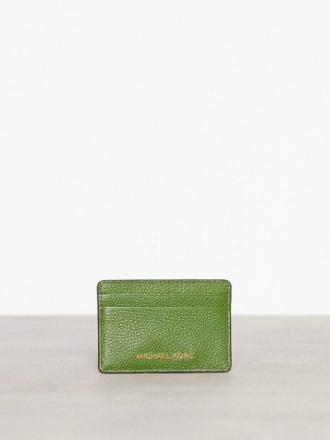Kortholder - Grønn Michael Michael Kors Money Pieces Card Holder