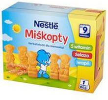 Nestle - Miśkopty herbatniki dla niemowląt