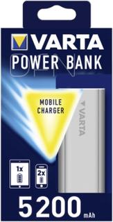 Varta Promotional Power Bank 5200 mAh silver
