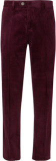 Cotton-corduroy Trousers - Burgundy