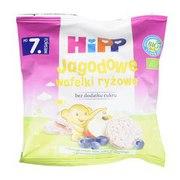HiPP - Wafelki ryżowe jagodowe