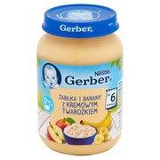 Gerber - Deserek jabłko banan z twarożkiem