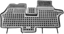 MERCEDES-BENZ Vito I 1995-2003 - przód z dodatkowym wzmocnieniem od strony kier dywaniki gumowe REZAW-PLAST RP-D 201712