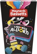Maynards Bassetts Liquorice Allsorts 400 g