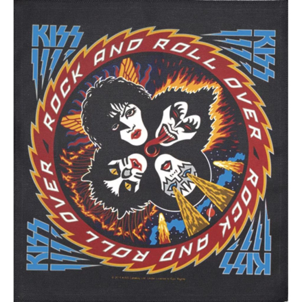 Kiss - Rock and roll over Patch 35*40 cm
