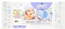 Bella Baby - Happy chusteczki z witaminą E 64 szt.