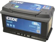 Akumulator EXIDE EXCELL 80Ah 700A P+