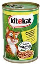 Kitekat - Konserwa dla kota z kurczakiem i warzywami