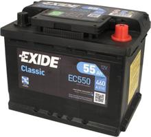 Akumulator EXIDE CLASSIC 55Ah 460A P+