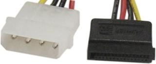 DELTACO strömkabel för Serial ATA hårddiskar (SATA-S)