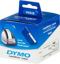 DYMO LabelWriter hvide arkiveringsetiketter, 38x190mm, 1-pack (110 stk