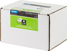 DYMO LabelWriter hvide adresseetiketter, 89x28 mm, (24x130stk.), bulk