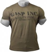 Gasp Basic Utility Tee Wash Green - T-skjorte