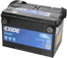 Akumulator EXIDE EXCELL 75Ah 770A L+