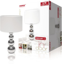 Ranex Bordslampa Mandy med touch-funktion