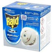 Raid - Urządzenie Night Day przeciw muchom, komarom i m...