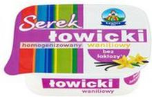 Łowicz - Serek bez laktozy homogenizowany waniliowy