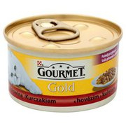 Gourmet Gold - Karma dla kota z wołowiną i kurczakiem