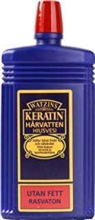 Keratin Hårvatten utan fett 200 ml