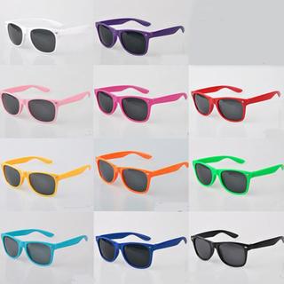 Solglasögon med Svarta glas, Wayfarer design Brown one size
