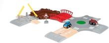 BRIO Rail & Road 33819 Vägset med racerbilar