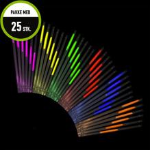 Glow Stick Straw 25 stk.