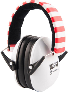 Alpine Muffy – Hörselskydd för barn, vit