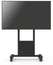 SMS Func Mobile - Floorstand with wheels for big screens, VESA 200x100 - 800x400, Max 120kg, Black