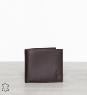 Polo Ralph Lauren Bllfold Wallet Lommebøker Brown
