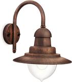 Philips Vägglampa myGarden Raindrop brun 53 W 0165