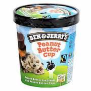 Ben & Jerry's - Peanut Butter lody o smaku masła orzechowego z cuk...masłem orzechowym