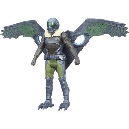 Disney SpidermanSpider-Man, Web City Figure, 15 cm, Marvels Vulture