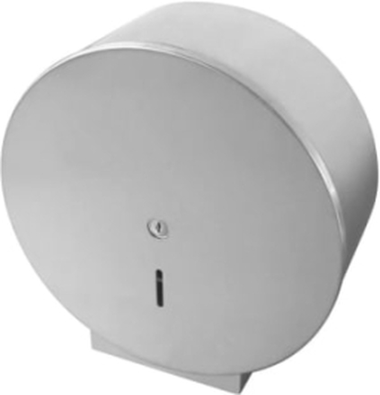 Randi Line 18 Maxi toalettpapirholder, Børstet rustfritt stål