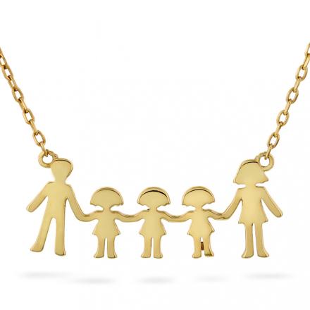 Familie - Smykke i sølv tre jenter