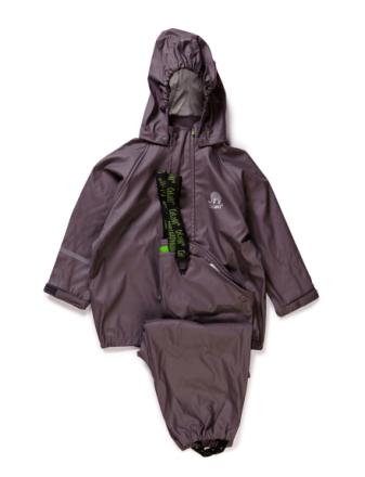 Basci Rainwear Set, Solid - Boozt