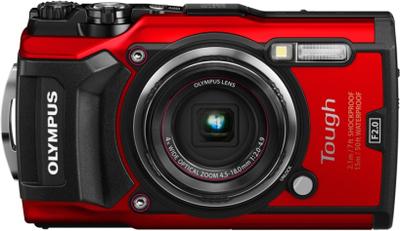 Olympus Tough TG-5 Röd, Olympus