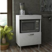 LOZADA Kjøkkenskap 60 cm Hvit, Kjøkkenskap