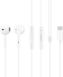 Huawei CM33 USB-C in-ear hörlurar (Vit)