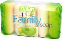 Dalan family soap Apple 5x75 g - Tvål 5 pack Äpple doft