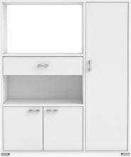 MUSKOT Kjøkkenenhet 90 Hvit, Kjøkkenskap