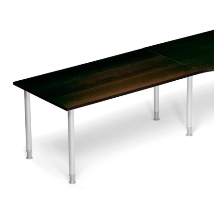 Skrivebord Tilbyg Profi Valnød laminat 1200x800mm