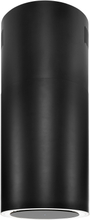 Premium line frihängande köksfläkt Monarc svart matt