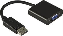 DisplayPort till VGA-adapter, 20-pin output 15-pin input