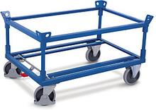 Paletten-Fahrgestell mit 2 Rahmen 500 kg