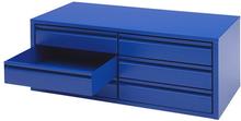 Lådfack till verkstadsskåp 970x450x360 Blå