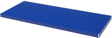 Fast hyllplan till verkstadsskåp 974x440 Blå 2pack