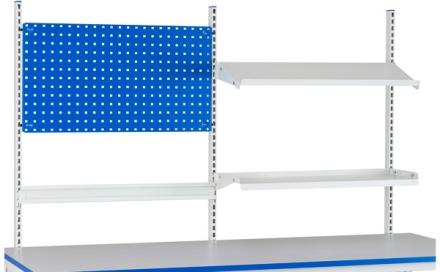 Påbyggnad verkstadsbord c/c 670+670