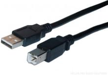 DELTACO 2 meter Skrivare USB kabel 2.0
