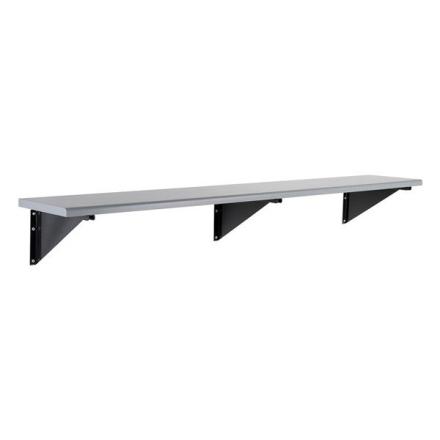 Sittbänk vägghängd 2000mm Laminat grå